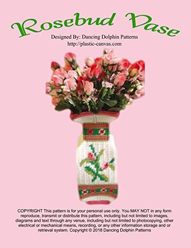 Rosebud Vase: Plastic Canvas Pattern (English Edition)