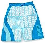 PUMA Jungen Long Board Shorts No.1 Logo, blue danube, 128, 819459 03