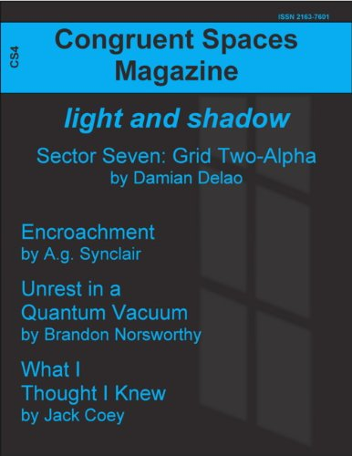 Congruent Spaces Magazine, Issue 4: light and shadow (English Edition)
