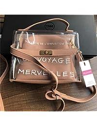 204e4bcb97901 XUZISHAN Design Luxus Frauen Transparenter Tasche Durchsichtige PVC-Gelee  Kleine Tote Messenger Bags Weiblichen Crossbody…