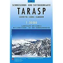 Tarasp Skirouten 1:50'000