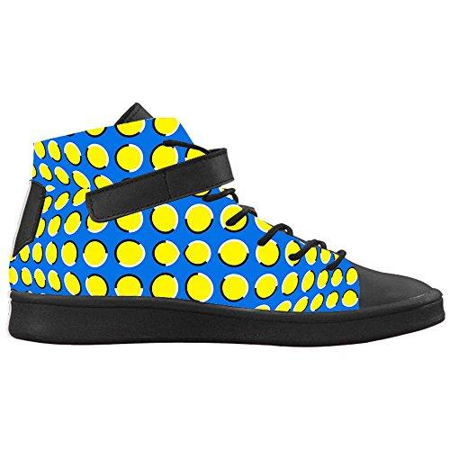 Dalliy polka dots Men's Canvas shoes Schuhe Footwear Sneakers shoes Schuhe B