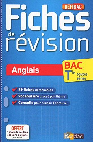 DéfiBac - Fiches de révision - Anglais Tles