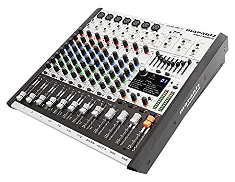 Marantz Professional SoundLive12 Compact 12-Channel/2-Bus Tabletop Mixer with 7 XLR