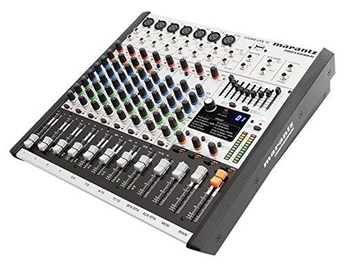 Marantz Professional SoundLive12 Professionelles 12-Kanal 2-Bus Mischpult