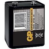 GP Batteries d'alimentation pile PP9–Chrome/Noir/Rouge