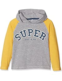 NAME IT Jungen Langarmshirt Nitfellon Ls Top W. Hood Mini