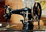 Omas Nähmaschinen (Wandkalender 2019 DIN A4 quer): Nostalgische Aufnahmen alter Nähmaschinen (Monatskalender, 14 Seiten )
