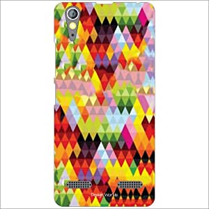 Design Worlds - Lenovo A6000 Designer Back Cover Case - Multicolor Phone Cover