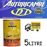 5 LITRI OLIO MOTORE BARDAHL XTC C60 5W40 5 LT