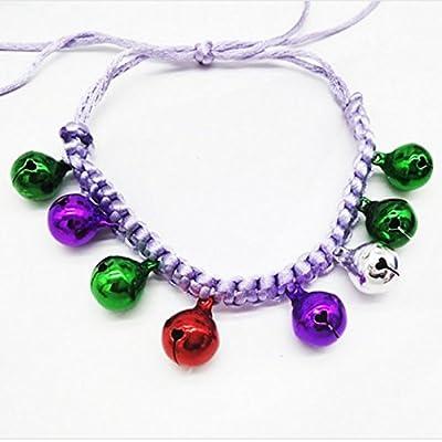 Pet Pendant Necklace,Ularma 1PC (Random Delivery) Super Fashion Cute Dress Up All-match Adjustable Pet Pendant Necklace