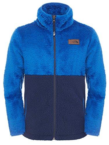 The North Face B Sherparazo Jacket-Giacca da ragazzo, colore: blu, taglia YM