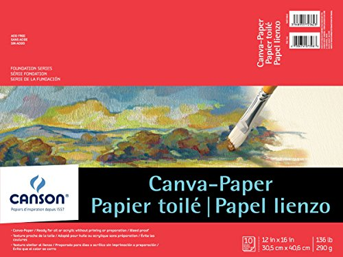 """Foundation Serie canva-paper Pad 0 12""""X16"""" 0"""