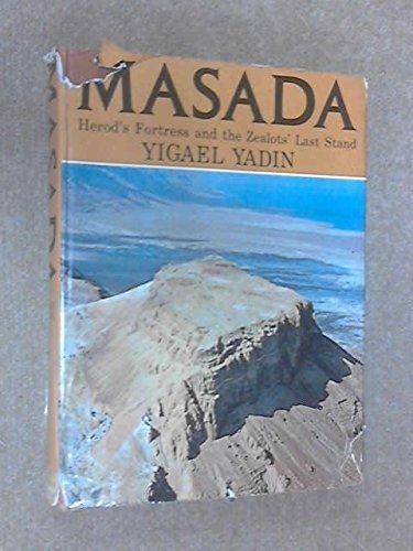 Buchseite und Rezensionen zu 'Masada' von Yigael Yadin