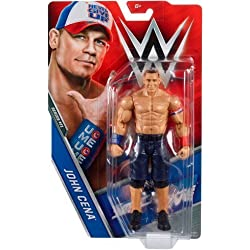 WWE BASE SERIE 71 wrestling action figure - John Cena - Rosso, Bianco & Blu - Never Give Up ABBIGLIAMENTO