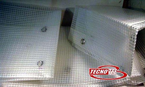 TENDA NYLON RETINATA TENDE DA BALCONE H350 X 300 CM.