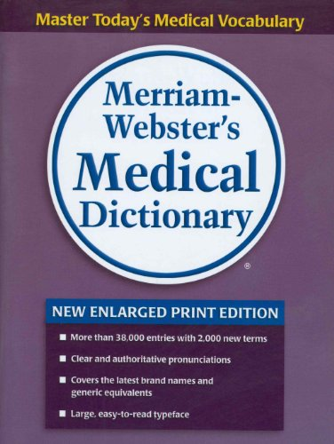 Merriam-Webster's Medical Dictionary (Websters Wörterbuch Großdruck)