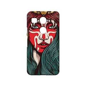 BLUEDIO Designer 3D Printed Back case cover for LG Nexus 5X - G1161