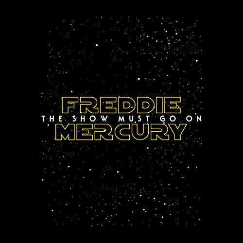 Star Wars Freddie Mercury The Show Must Go On Men's Hooded Sweatshirt Black