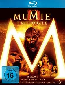 Die Mumie - Trilogy: Die Mumie + Die Mumie kehrt zurück + Das Grabmal des Drachenkaisers [Blu-ray]