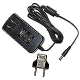 HQRP AC Adaptateur pour Yamaha PSR-170 PSR170 PSR-172 PSR172 PSR-175 PSR175 PSR-262 PSR262 Claviers