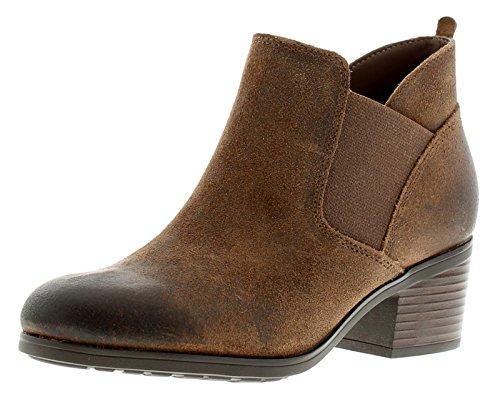Preisvergleich Produktbild NEU Damen / Womens braun Rockport Danii Chelsea Style Stiefeletten - braun - UK Größen 3-8 - Braun,  36