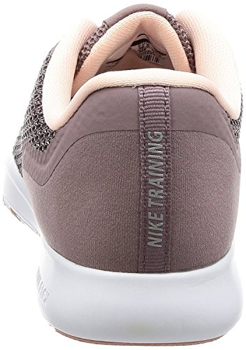 Nike Damen Flex Trainer 7 Bionic Sneaker, Grau (Taupe Grey/Metallic Silver-Sun), 40 EU