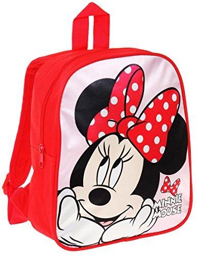 64bfcfa205 Minnie Sac à dos enfant fille Disney Rouge/rose 28cm