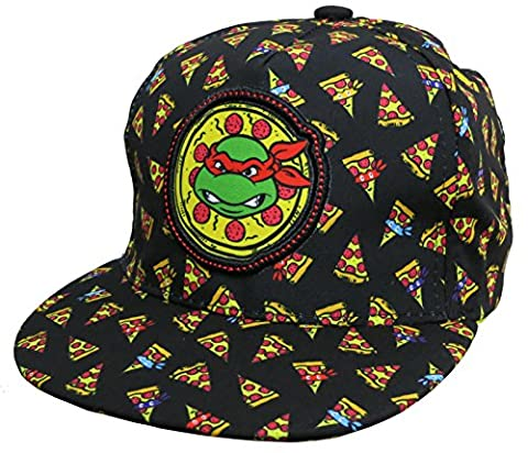 Nickelodeon Teenage Mutant Ninja TMNT Pizza Black Boys Baseball Cap – Toddler [6014]