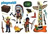 PLAYMOBIL® Fensterbilder - Indianer