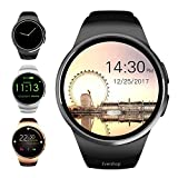 Evershop Bluetooth Smart Watch, 1.5 inches IPS Round Touch Screen Smartwatch ..