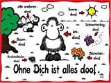 Ravensburger 15321 - Sheepworld: Ohne dich ist alles doof - 1000 Teile Puzzle