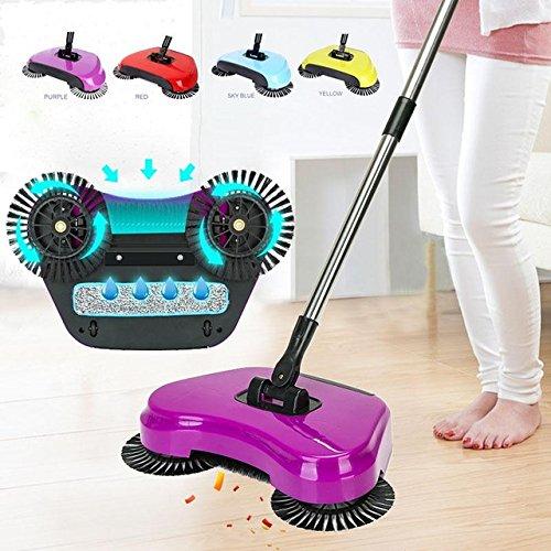 Egab 3 In 1 Hand Push Sweeper Broom Floor Cleaner Mop Broom