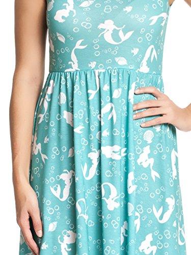 Walt Disney Arielle (The Little Mermaid) - Allover Robe vert Vert