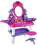 #3: Toyshine Big Size Dressing Table Make up Toy Set with Music, Lights, Accessories to Play (62X33X65Cms)