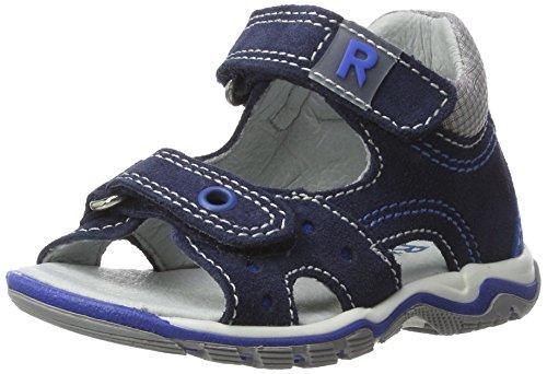 Richter Kinderschuhe Baby Jungen Jumbo Sandalen, Blau (Atlantic/Lagoon/Rock), 24 EU