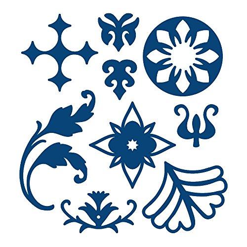Schöne Viktorianische Spitze (Viktorianischer Elements Tattered Lace Metallschablone Schnitt Stephanie WEIGHTMAN)