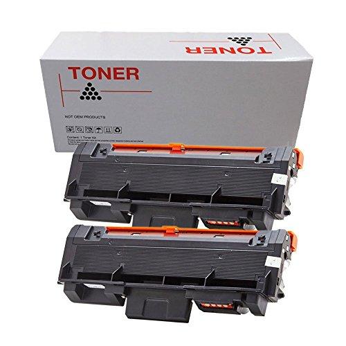 Preisvergleich Produktbild 2x DOREE Toner kompatibel für Samsung Xpress M2835DW/SEE, Xpress M2825ND/SEE, Samsung Xpress M2675FN/XEC, SL-M2625, SL-M2875 - MLT-D116L/ELS - Schwarz je 3.000 Seiten