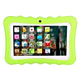 Fulltime E-Gadget 7 Zoll 1G + 8G 1024 * 600 Tablet Android A33 Auflösung Tablet Android Quad-Core Wireless Foto Learning Home Lehre Studenten Tablet-PC (Grün)