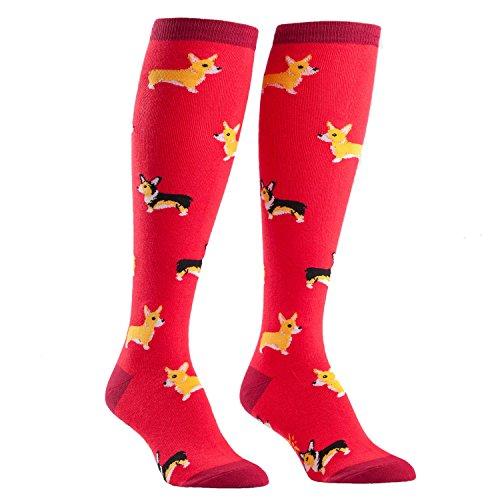 Image of Sock It To Me Corgi Women's Knee Socks