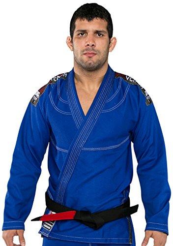 Venum Herren Kimono Challenger 2.0 BJJ GI, Royal Blue, A1.5, EU-VENUM-1148 (Perlen Gestickte Anzug)