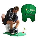 Andux Aseo Baño Mini Golf Juego Potty Putter entrenamiento de putter para WC-01