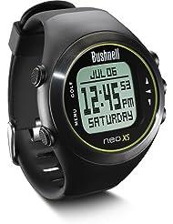 Bushnell Neo XS Golf - Reloj GPS, precargado con campos Europa, negro
