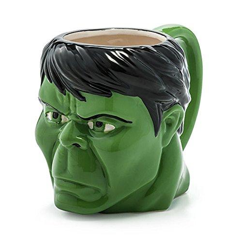 Der unglaubliche Hulk - Kopf geformt 16oz Mug -