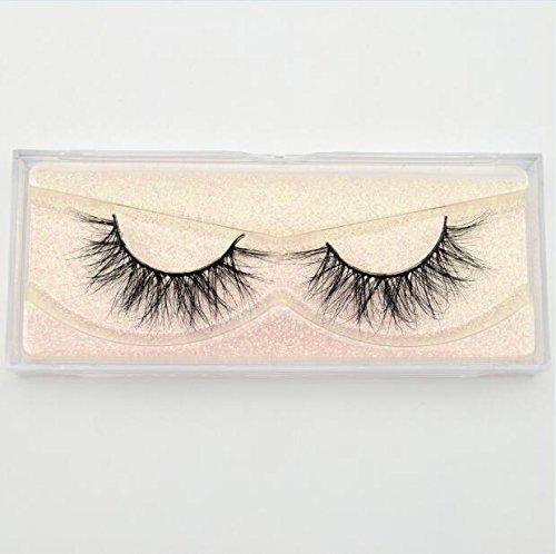 b71ea690235 KHKJ Mink Lashes 3D Mink Eyelashes 100% Cruelty Free Lashes Handmade  Reusable Natural Eyelashes Popular