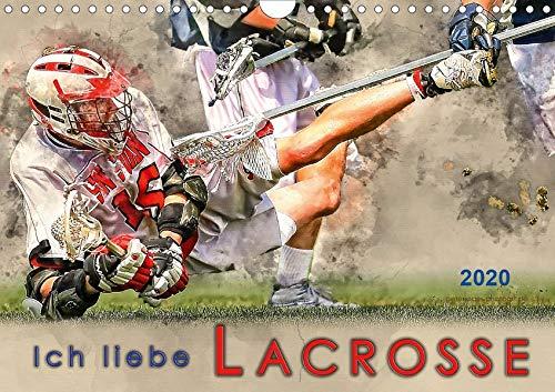 Ich liebe Lacrosse (Wandkalender 2020 DIN A4 quer)