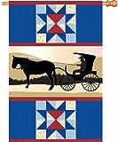 Premier cometas 52599casa brillantez Bandera, Amish país, 28por 40pulgadas