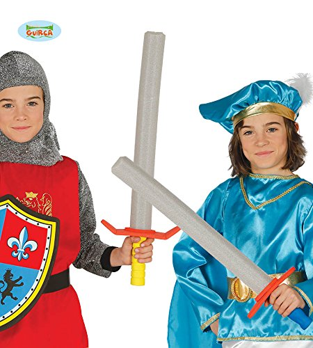 Espada Medieval goma EVA 63,5 cm para niño