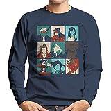 Final Fantasy 7 Pop Art Men's Sweatshirt