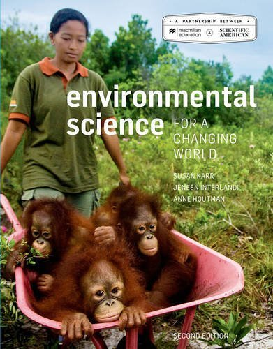 Scientific American Environmental Science for a Changing World by Susan Karr (4-Mar-2015) Paperback